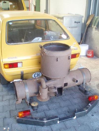Beliebt Bevorzugt Opel Kadett mit Holzvergaser &NY_97