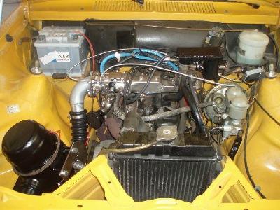 Ganz und zu Extrem Opel Kadett mit Holzvergaser @RL_69