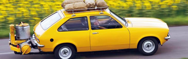 Etwas Neues genug Opel Kadett mit Holzvergaser &AP_15
